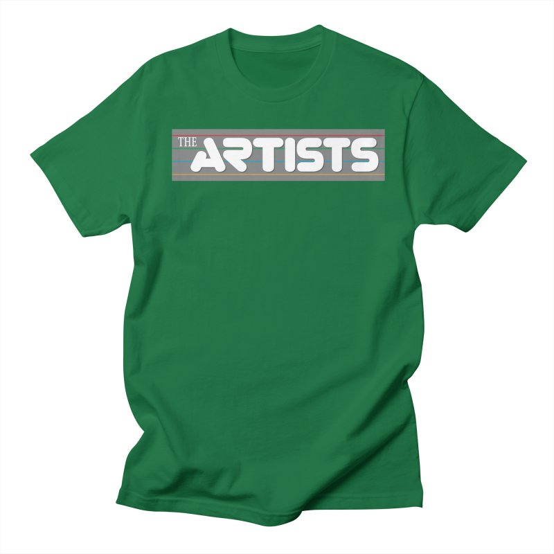 Artists Logo Info Men's T-Shirt by The Artists