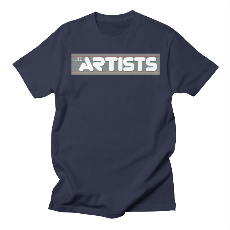 Artists Logo Info Men's T-Shirt by The Artists