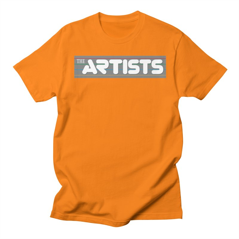 Artists Logo Info Men's Regular T-Shirt by The Artists