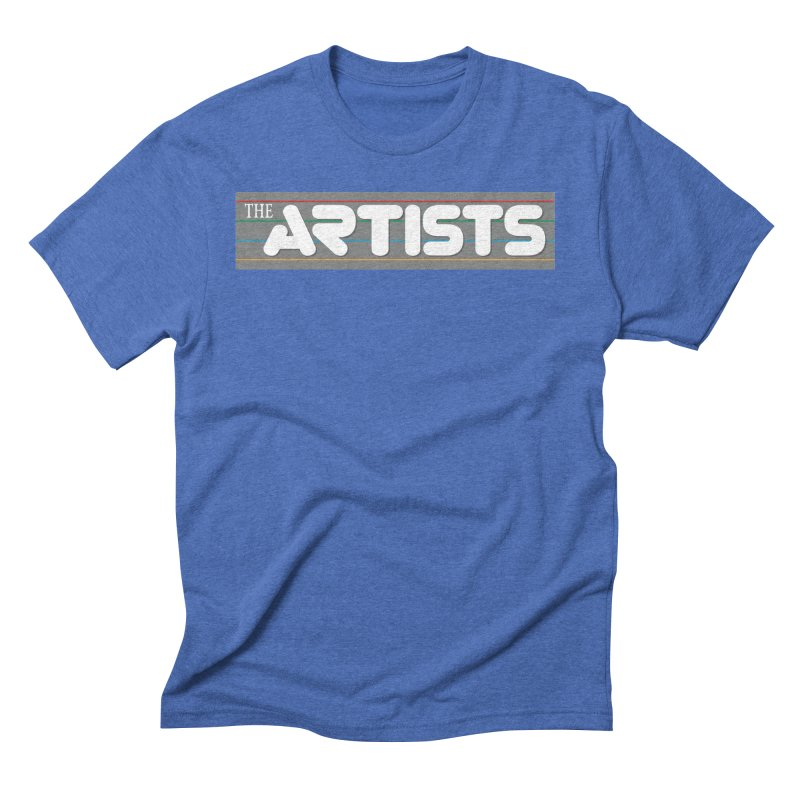 Artists Logo Info Men's Triblend T-Shirt by The Artists