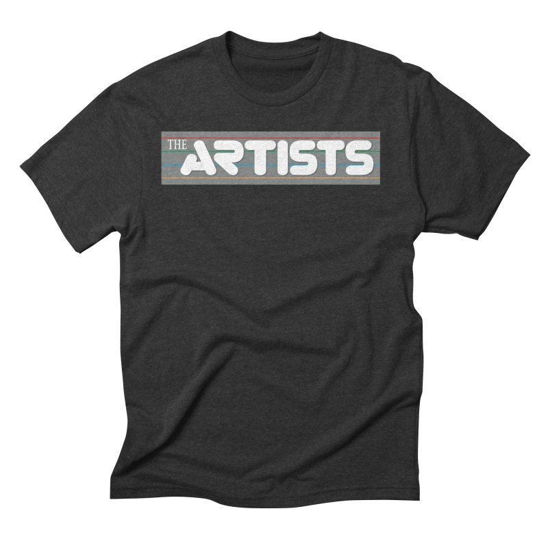 Artists Logo Info Men's Triblend T-Shirt by The Artists