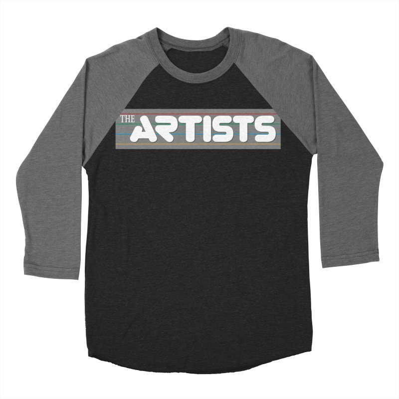 Artists Logo Info Men's Baseball Triblend Longsleeve T-Shirt by The Artists