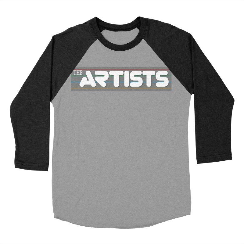 Artists Logo Info Men's Baseball Triblend Longsleeve T-Shirt by The Artists