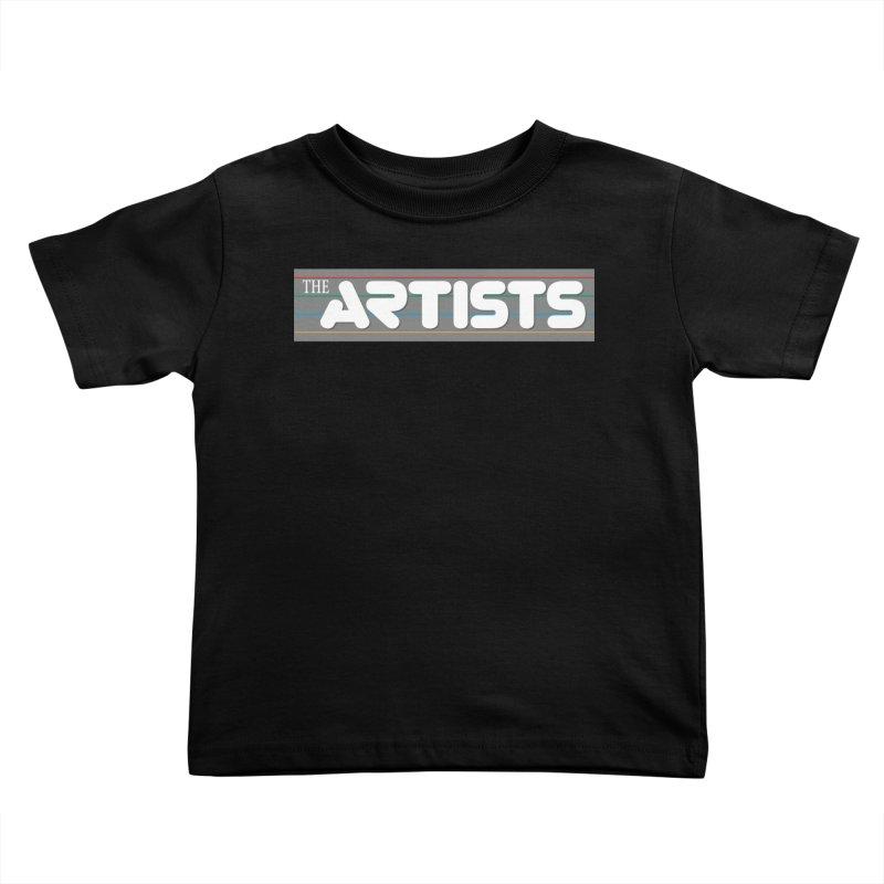 Artists Logo Info Kids Toddler T-Shirt by The Artists