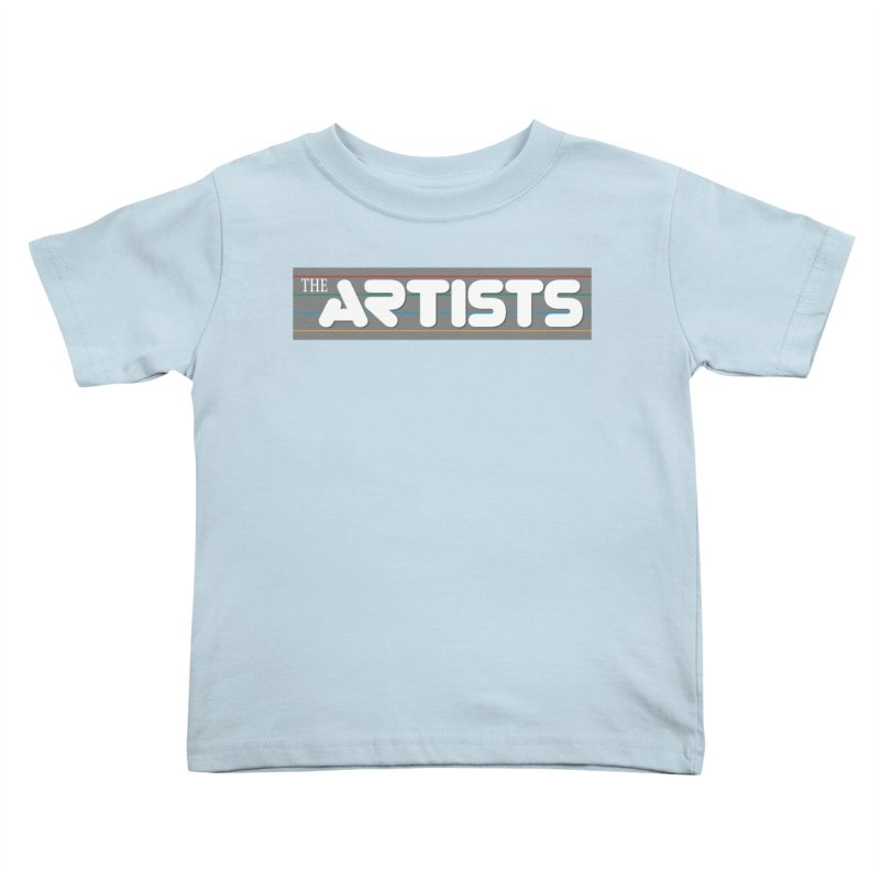 Artists Logo Info Kids Toddler T-Shirt by The Artists