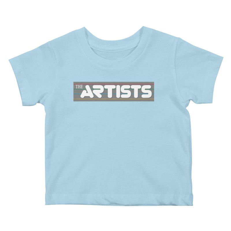 Artists Logo Info Kids Baby T-Shirt by The Artists