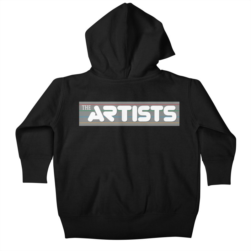 Artists Logo Info Kids Baby Zip-Up Hoody by The Artists