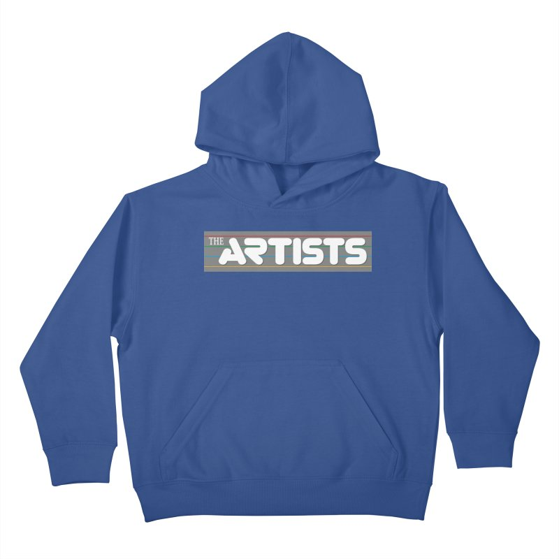 Artists Logo Info Kids Pullover Hoody by The Artists