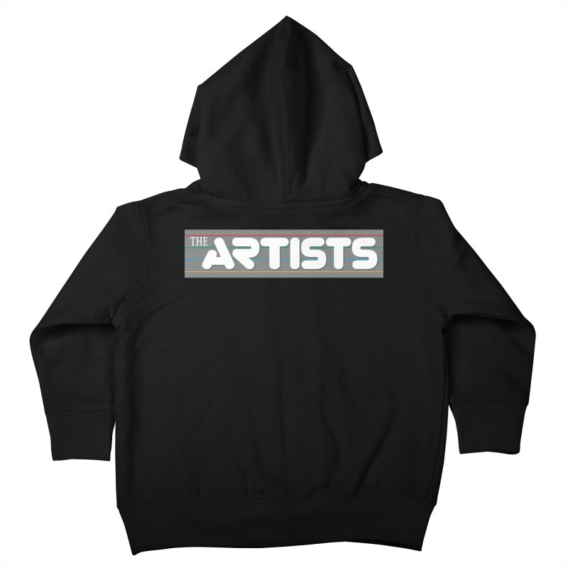 Artists Logo Info Kids Toddler Zip-Up Hoody by The Artists