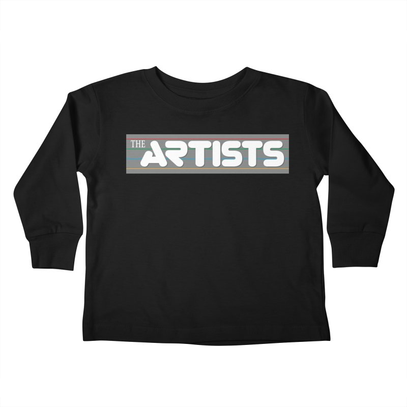 Artists Logo Info Kids Toddler Longsleeve T-Shirt by The Artists