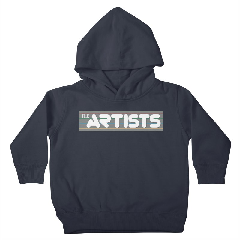 Artists Logo Info Kids Toddler Pullover Hoody by The Artists