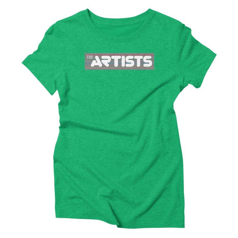 Artists Logo Info Women's Triblend T-Shirt by The Artists