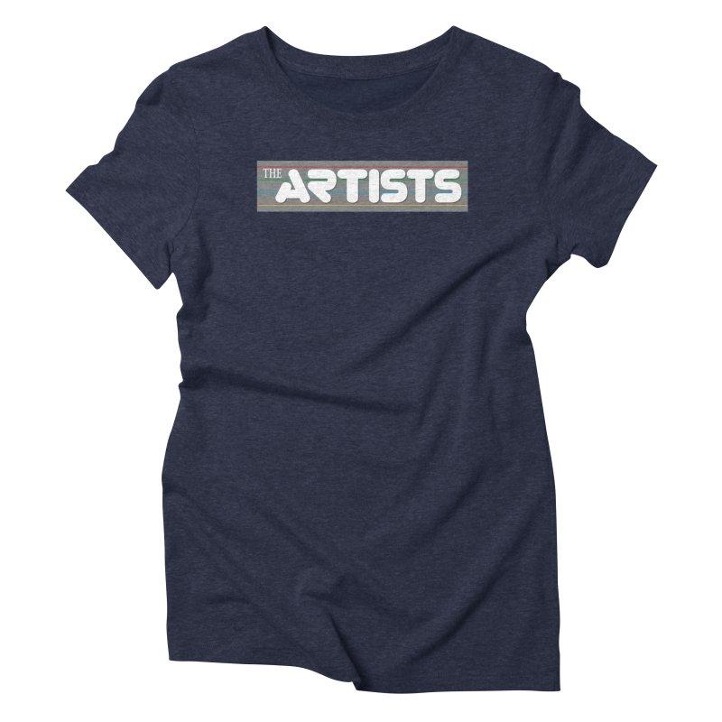 Artists Logo Info Women's T-Shirt by The Artists
