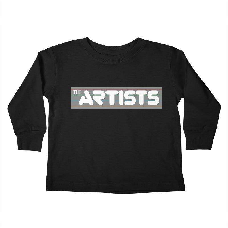 Artists Logo Info Kids Toddler Longsleeve T-Shirt by The Artists
