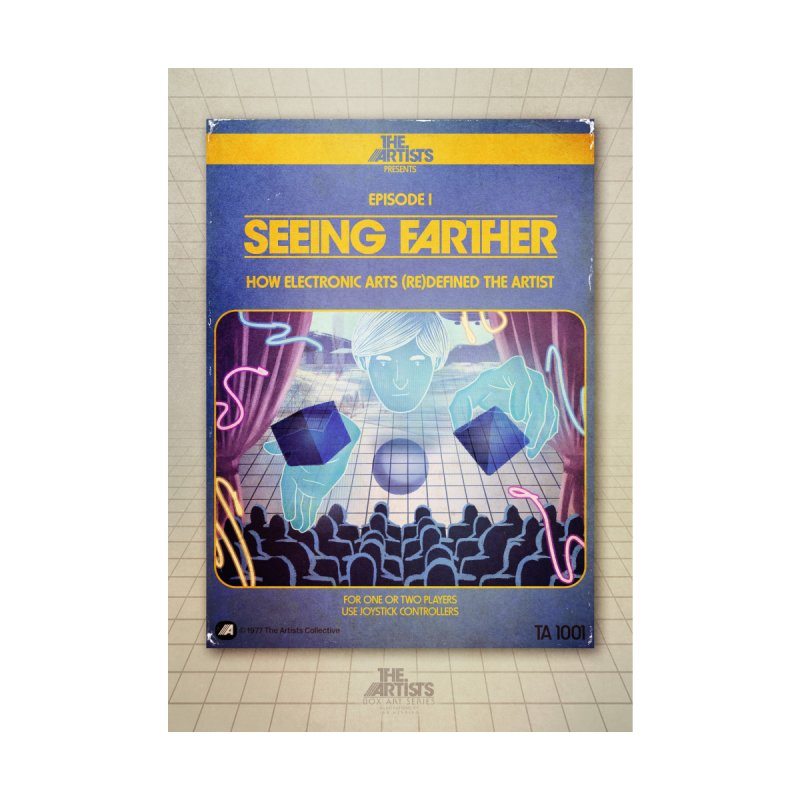 Box Art Poster Series: Seeing Farther by The Artists