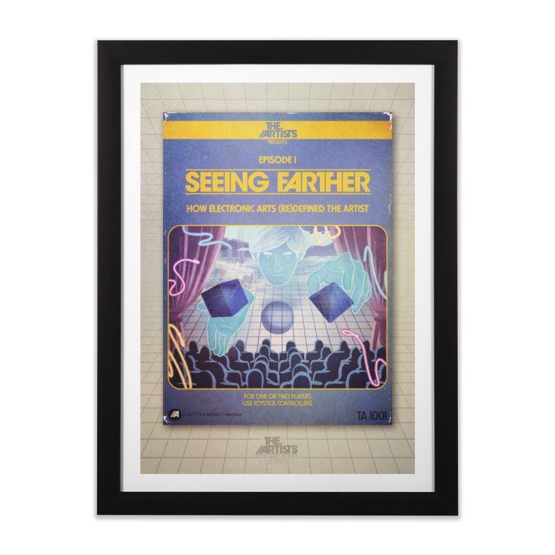 Box Art Poster Series: Seeing Farther Home Framed Fine Art Print by The Artists