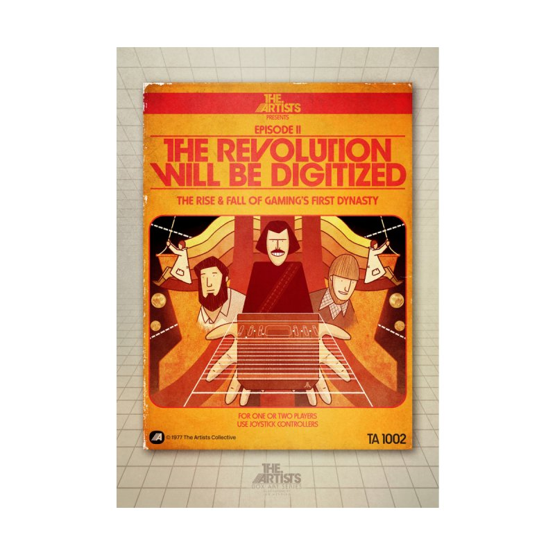 Box Art Poster Series: The Revolution will be Digitized by The Artists