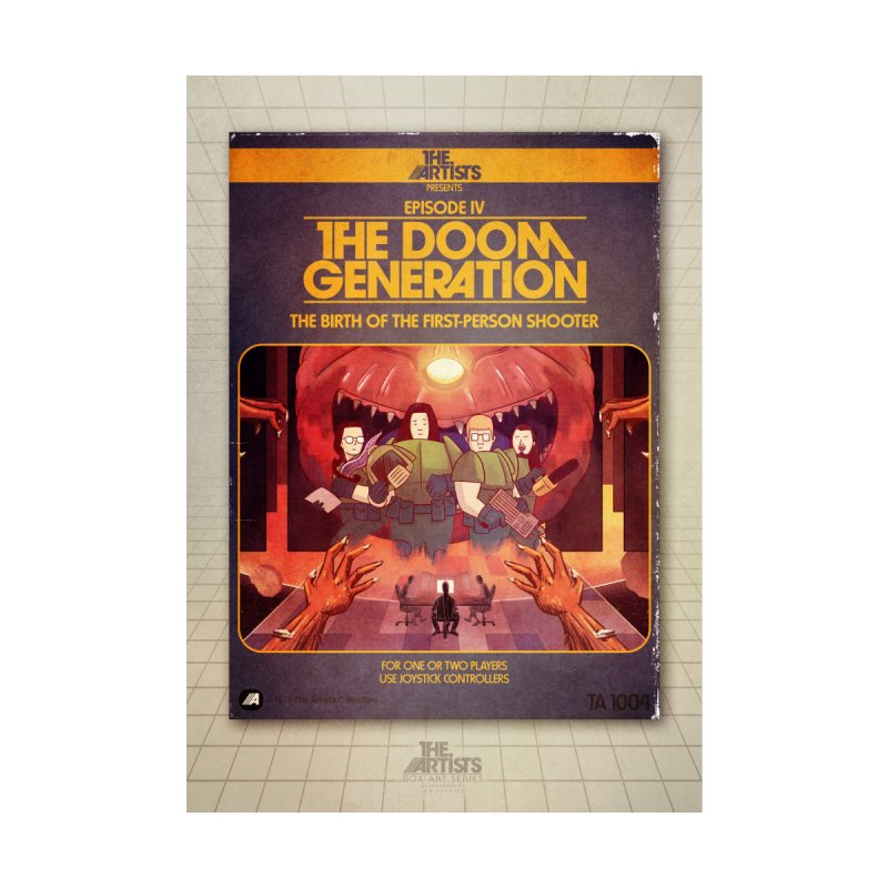 Box Art Poster Series: The Doom Generation Home Fine Art Print by The Artists