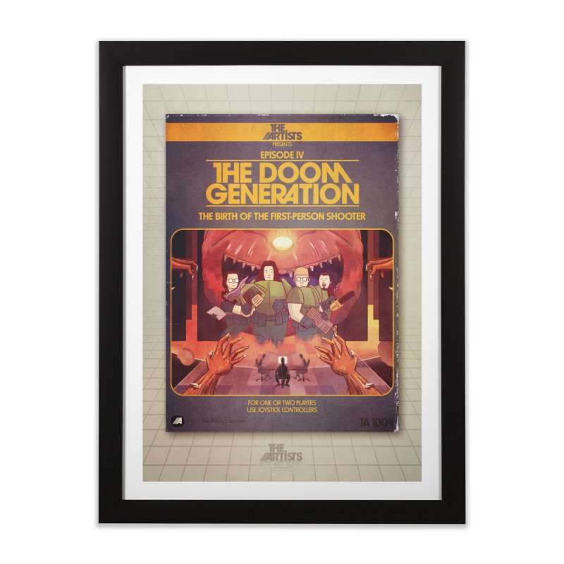 Box Art Poster Series: The Doom Generation Home Framed Fine Art Print by The Artists