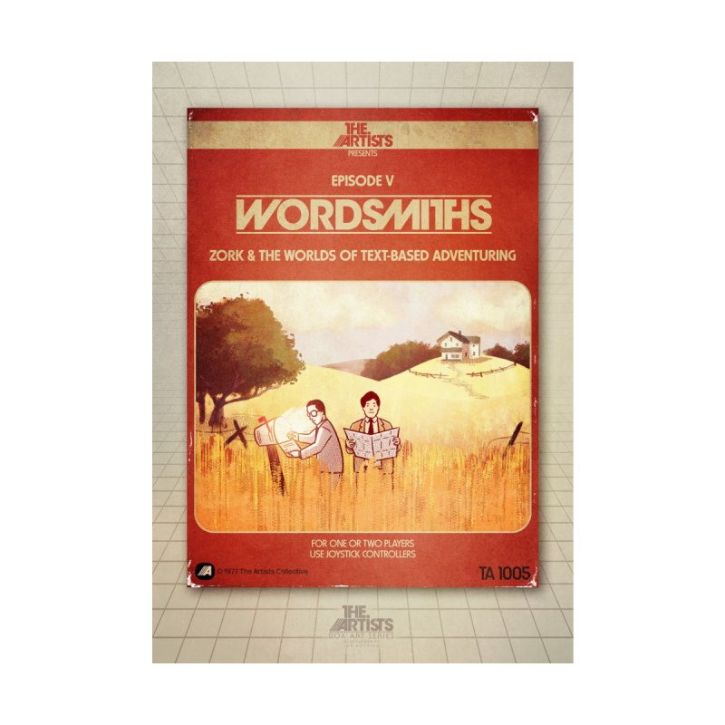 Box Art Poster Series: Wordsmiths by The Artists