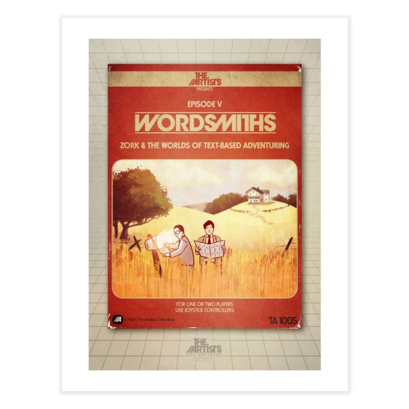 Box Art Poster Series: Wordsmiths Home Fine Art Print by The Artists