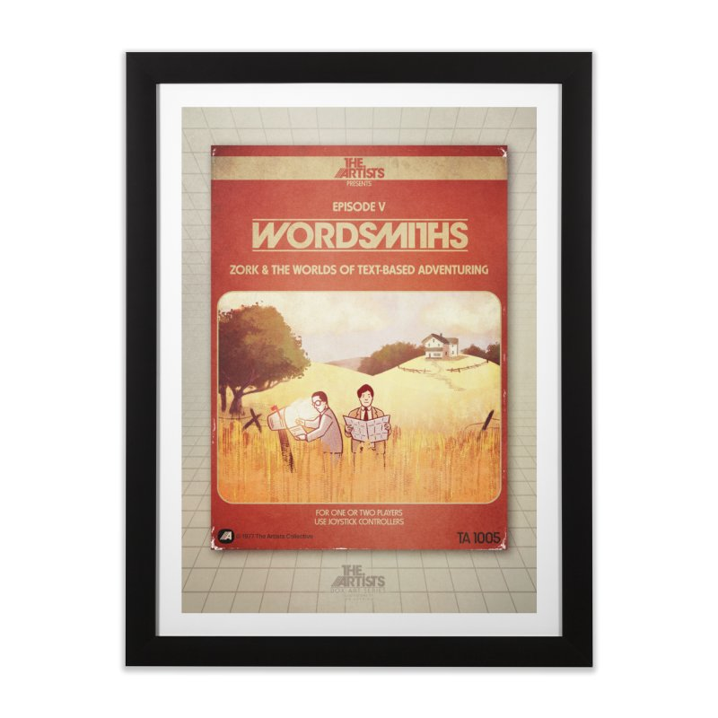 Box Art Poster Series: Wordsmiths Home Framed Fine Art Print by The Artists