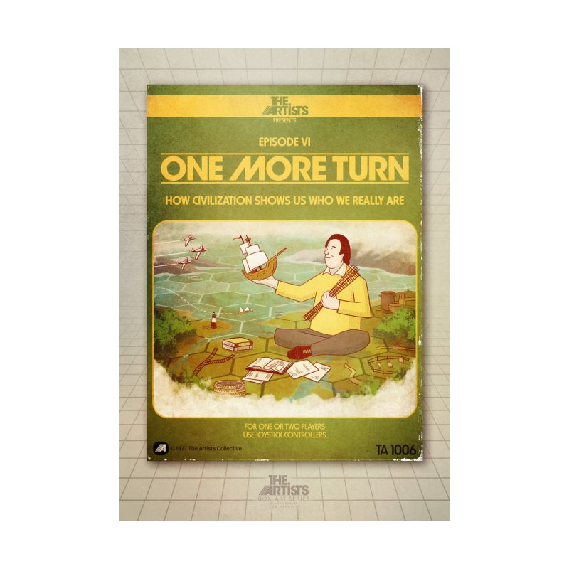 Box Art Poster Series: One More Turn by The Artists
