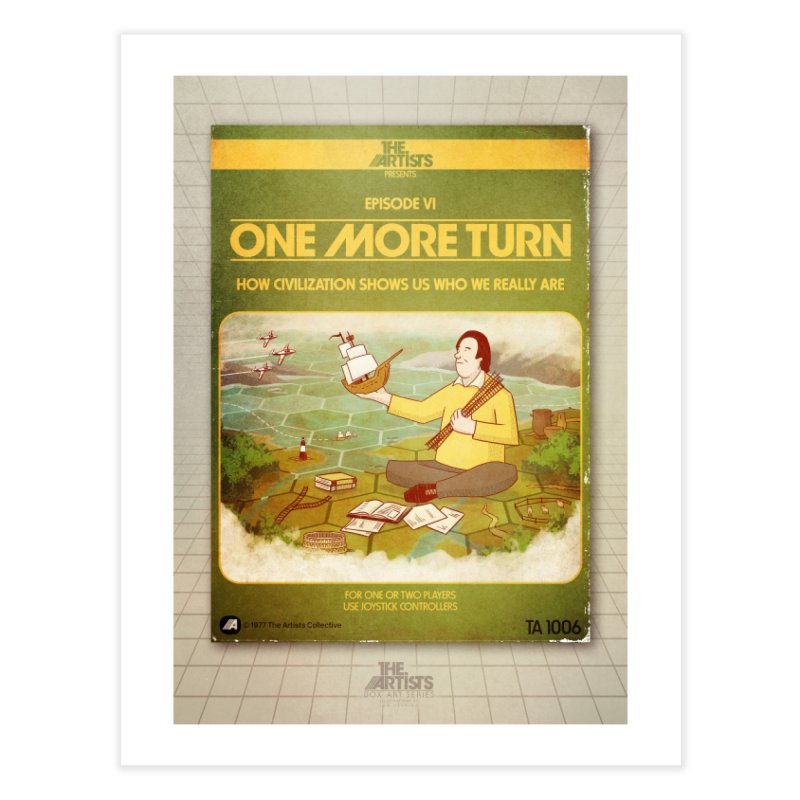 Box Art Poster Series: One More Turn Home Fine Art Print by The Artists