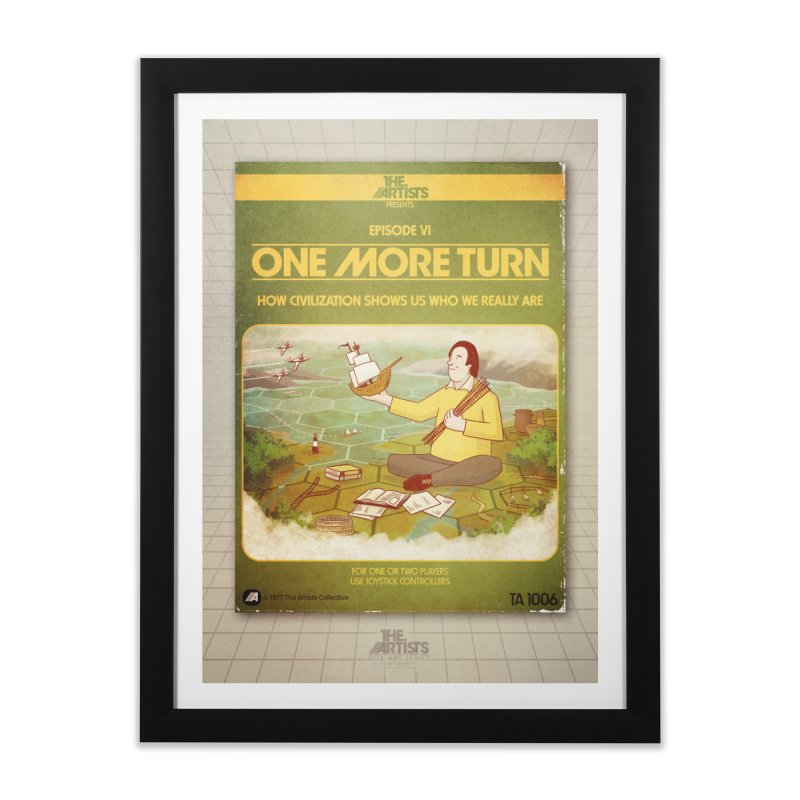 Box Art Poster Series: One More Turn Home Framed Fine Art Print by The Artists