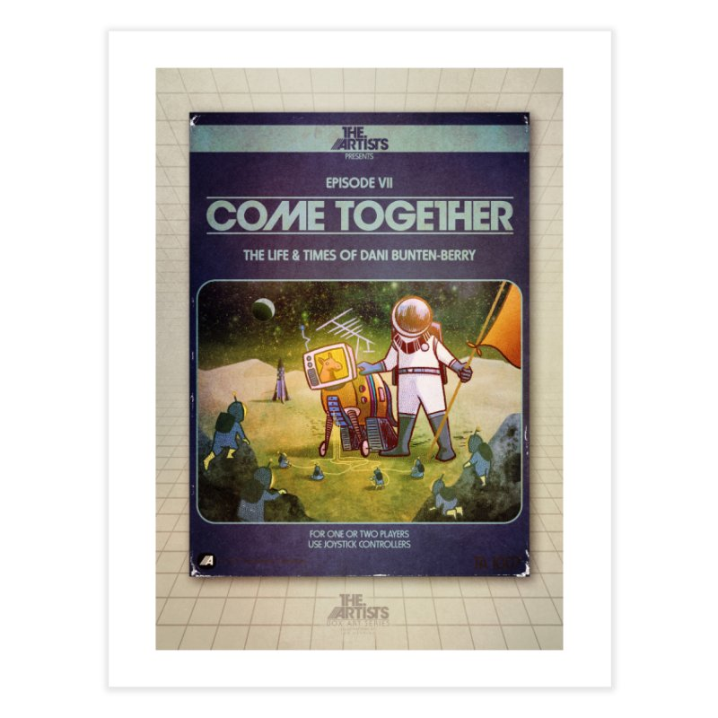 Box Art Poster Series: Come Together Home Fine Art Print by The Artists