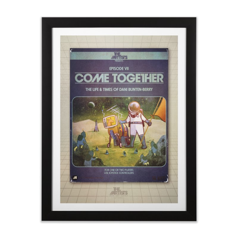 Box Art Poster Series: Come Together Home Framed Fine Art Print by The Artists