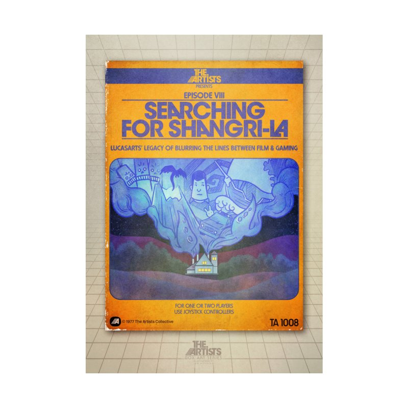 Box Art Poster Series: Searching for Shangri-La by The Artists