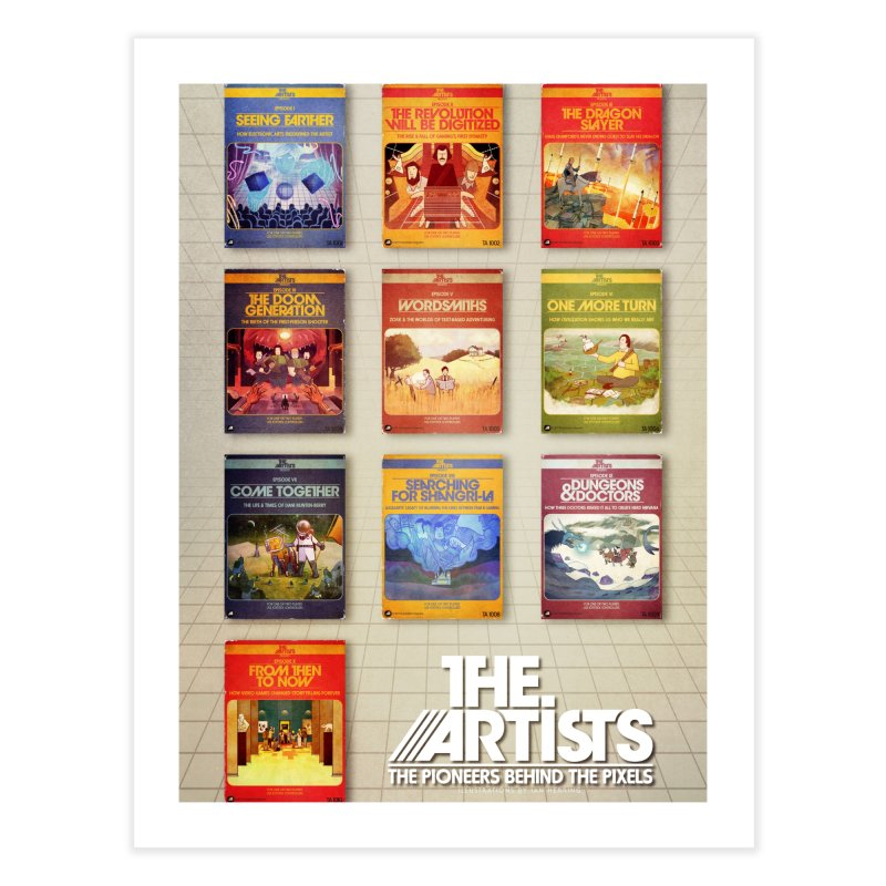 Box Art Poster Series: Season 1 Home Fine Art Print by The Artists