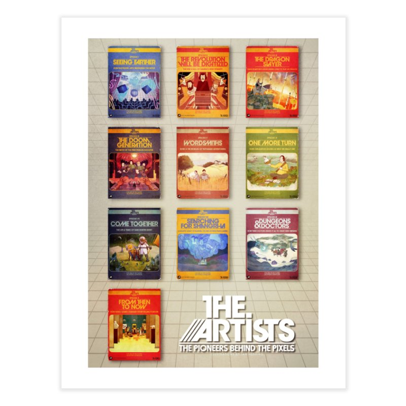 Box Art Poster Series: Season 1 Home Fine Art Print by The Artists