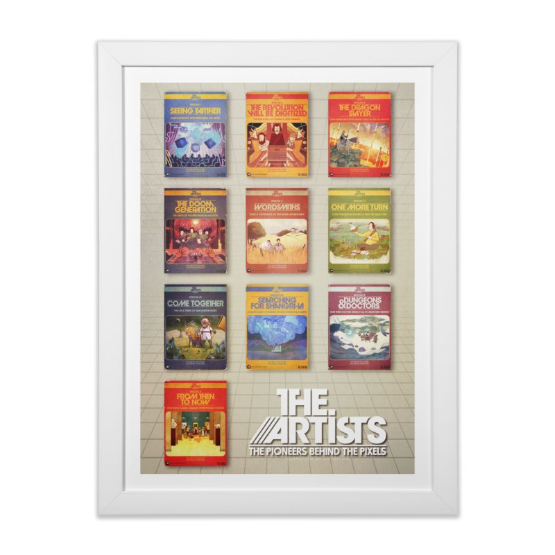Box Art Poster Series: Season 1 Home Framed Fine Art Print by The Artists