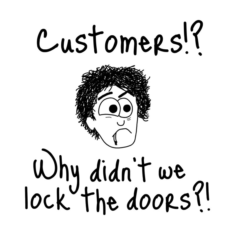 Black Books - Why did't we lock the doors?! by The Art of Adz