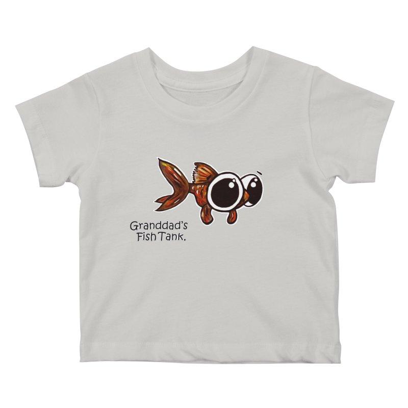 Granddad's Fish Tank - Danny MacDoogle Kids Baby T-Shirt by The Art of Adz