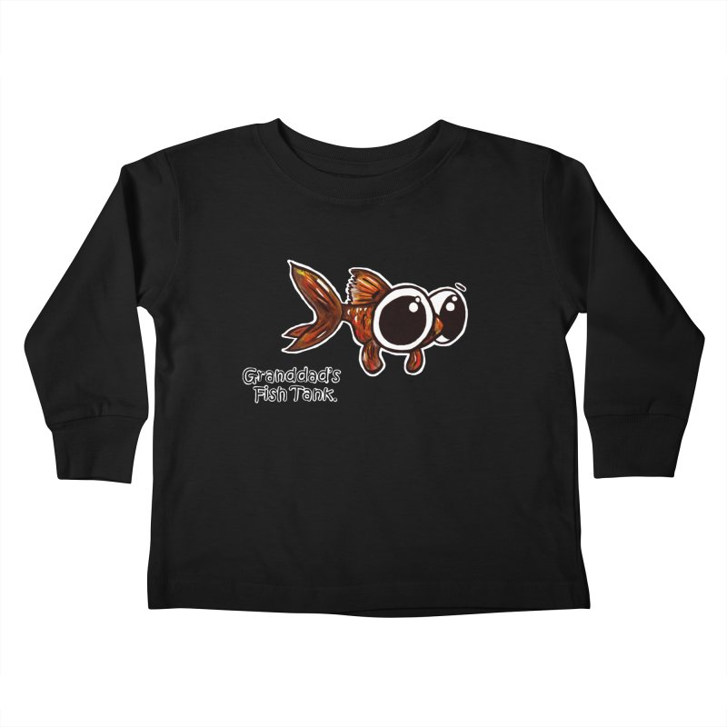 Granddad's Fish Tank - Danny MacDoogle Kids Toddler Longsleeve T-Shirt by The Art of Adz