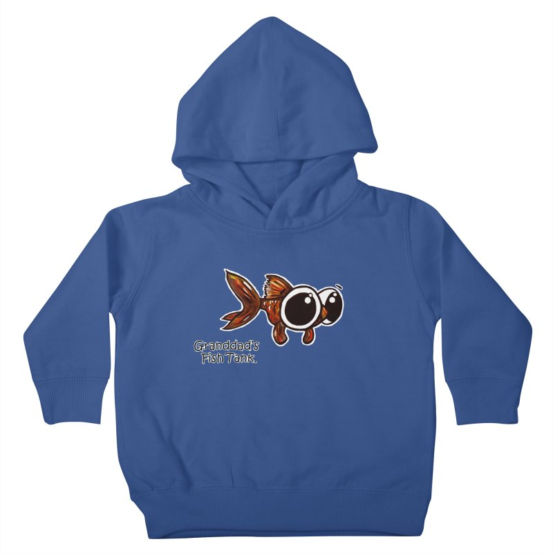 Granddad's Fish Tank - Danny MacDoogle Kids Toddler Pullover Hoody by The Art of Adz