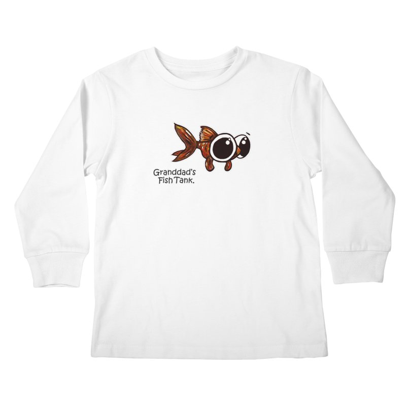 Granddad's Fish Tank - Danny MacDoogle Kids Longsleeve T-Shirt by The Art of Adz
