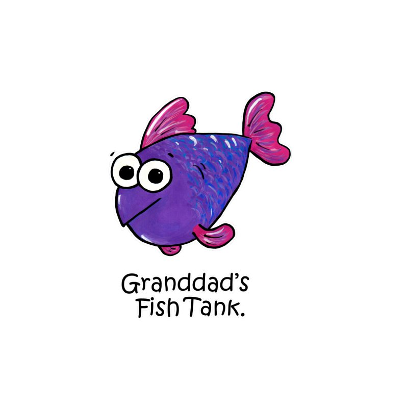 Granddad's Fish Tank - Freddy's Friend   by The Art of Adz