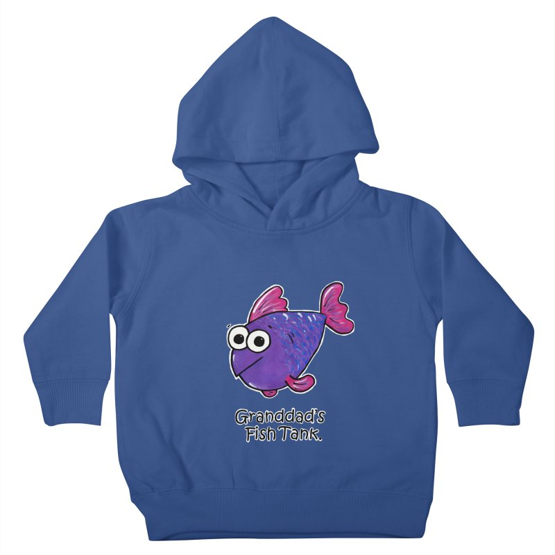 Granddad's Fish Tank - Freddy's Friend Kids Toddler Pullover Hoody by The Art of Adz