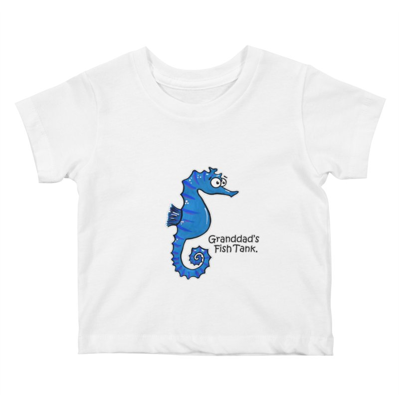 Granddad's Fish Tank - Seymour The Seahorse   by The Art of Adz