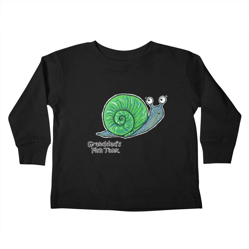 Granddad's Fish Tank - Sammy The Snail   by The Art of Adz