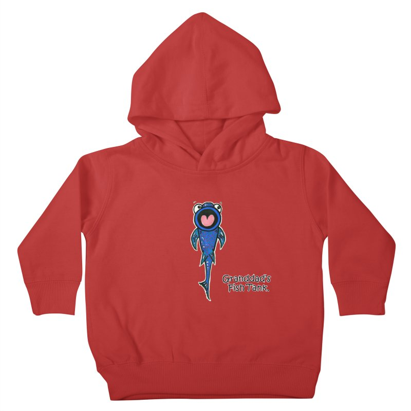 Granddad's Fish Tank - The Sucker Fish Kids Toddler Pullover Hoody by The Art of Adz