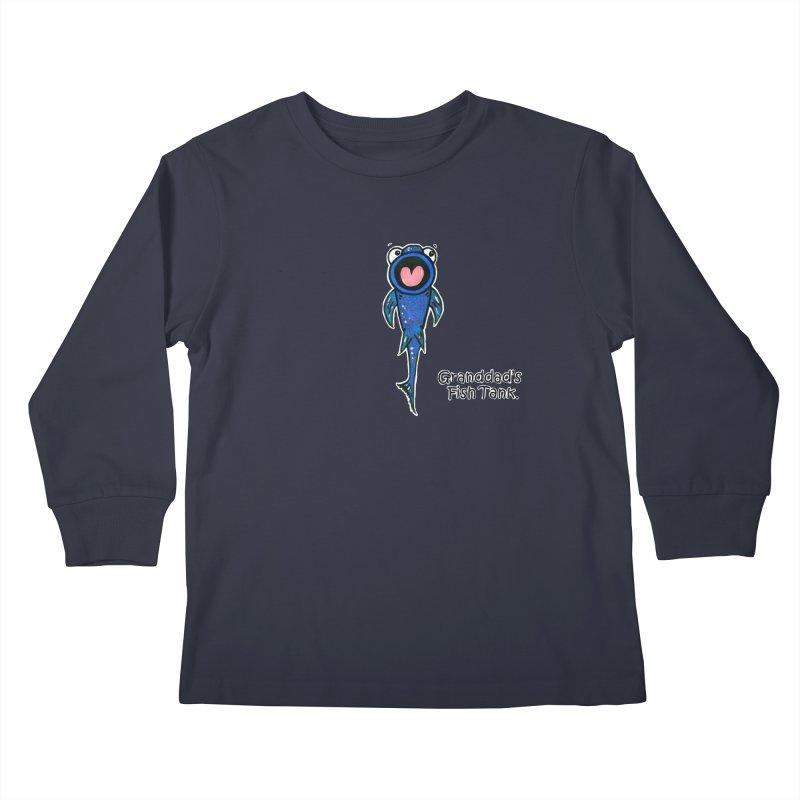 Granddad's Fish Tank - The Sucker Fish Kids Longsleeve T-Shirt by The Art of Adz