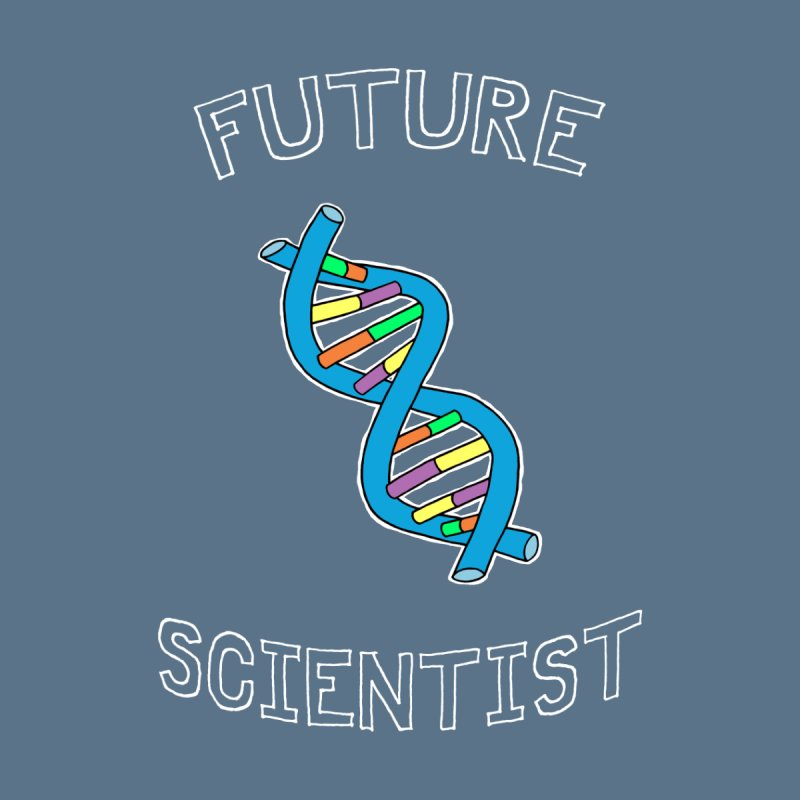 For Science - Future Scientist Kids Baby Bodysuit by The Art of Adz