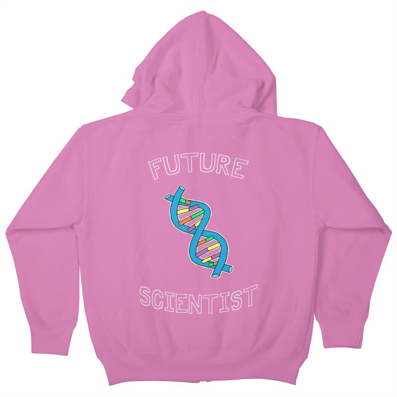 For Science - Future Scientist Kids Zip-Up Hoody by The Art of Adz