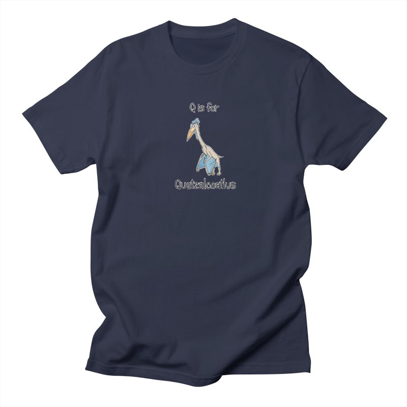 S is for Science - Quetzalcoatlus Men's T-shirt by The Art of Adz