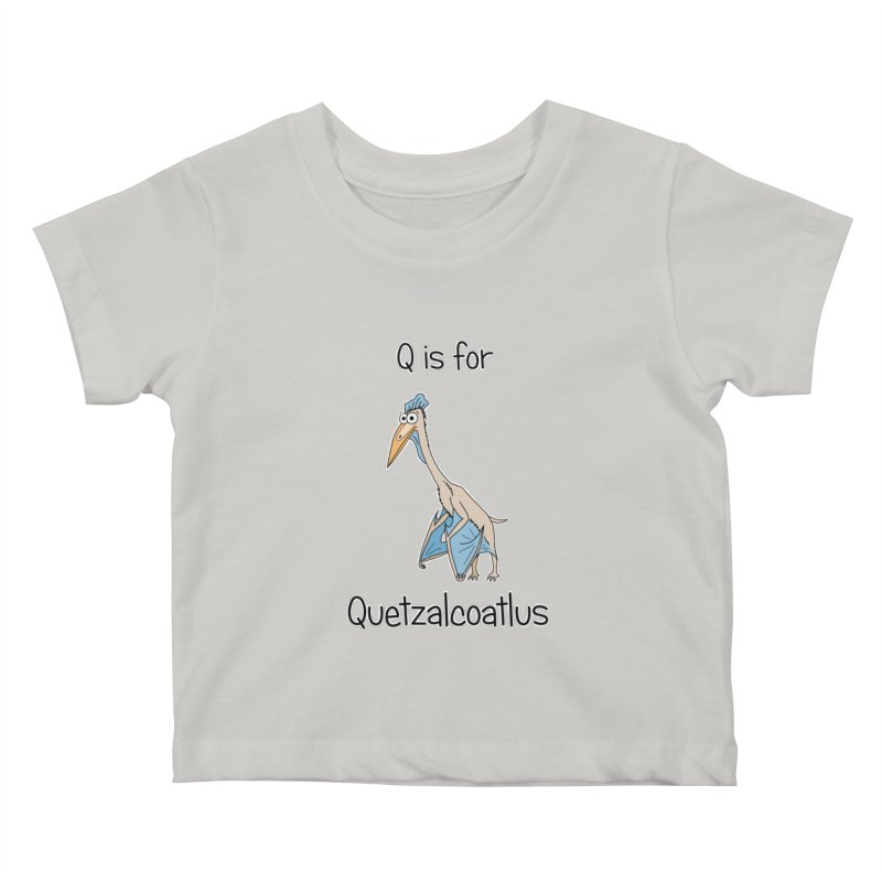 S is for Science - Quetzalcoatlus Kids Baby T-Shirt by The Art of Adz